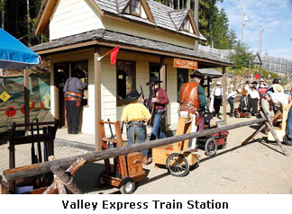 Valley Express Train Station
