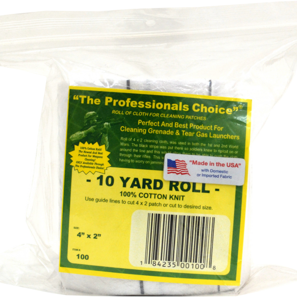 Knit Roll of Professionals Choice Patches with Guidelines
